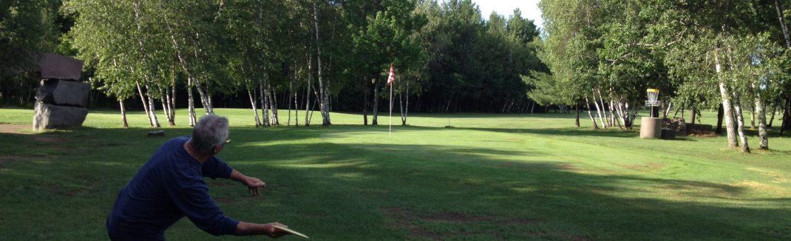 Disc golf Les Rivières